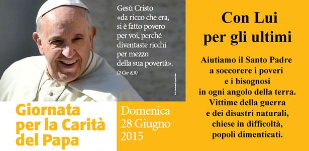 Giornata per la Carità del Papa 2015